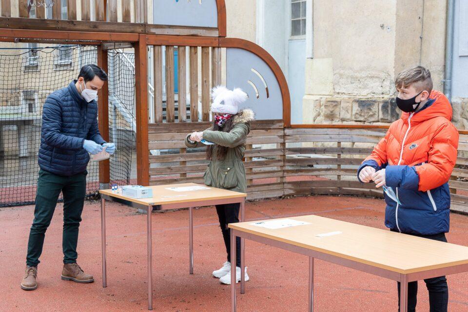 djeca testiranje